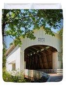 Pengra Bridge Duvet Cover by Mary Jo Allen