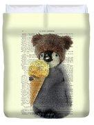 Penguin Ice Cream Duvet Cover