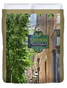 Peninsula Grill Charleston1028 Duvet Cover