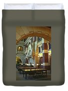 Penn Fine Arts Library Duvet Cover