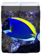 Blue Tang Fish  Duvet Cover