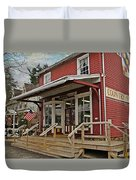 Pennsdale Country Store Duvet Cover by Stephanie Calhoun
