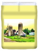 Pennsylvania Farming  Duvet Cover