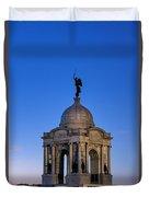 Pennsylvania Monument At Gettysburg Duvet Cover