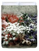 Penny Postcard Romantica Duvet Cover