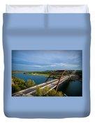 Pennybacker Bridge 1 Duvet Cover