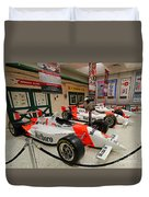 Penske Racing Indy 500 Hall Of Fame Museum Duvet Cover