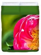 Peonie Flower Duvet Cover