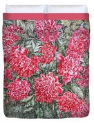 Peonies Love Duvet Cover