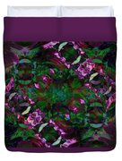 Peony Explosion Duvet Cover