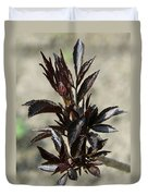 Peony Sprouts Duvet Cover