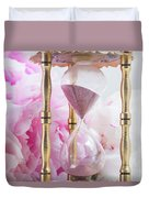 Peony Time Duvet Cover