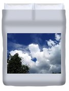People In The Clouds Duvet Cover