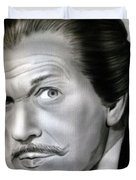 People- Vincent Price Duvet Cover