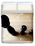 Pepper Mill Topside Duvet Cover
