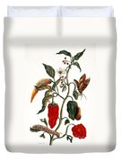 Pepper Plant Duvet Cover