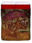 Pepsi Cola Vintage Sign 5a Duvet Cover