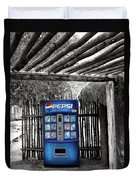 Pepsi Generation Palm Springs Duvet Cover