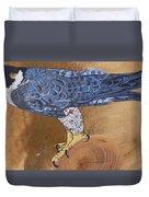 Peragrine Falcon Duvet Cover