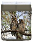 Perched And Posing Duvet Cover