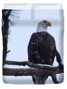 Perched And Proud  Duvet Cover