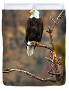Perched At Smith Rock Duvet Cover