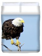 Perched On A Tree Duvet Cover