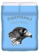 Peregrine Falcon Tashunka Duvet Cover