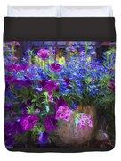 Perennial Flowers Y2 Duvet Cover