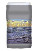 Perfect Beach Evening No.3 Duvet Cover