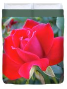 Perfect Form - Knock Out Rose Duvet Cover