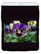 Perfect Pansy  Duvet Cover