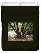 Perfect Picnic Tree Duvet Cover
