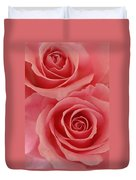 Perfect Pink Roses Duvet Cover