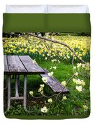 Perfect Place To Picnic Duvet Cover