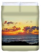 Perfect Sunset Cannon Beach I Duvet Cover