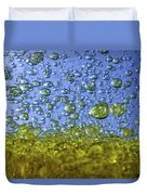 Abstract Olive Oil Duvet Cover
