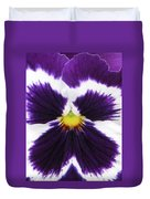 Perfectly Pansy 01 Duvet Cover