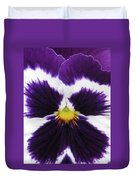 Perfectly Pansy 02 Duvet Cover