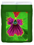 Perfectly Pansy 04 - Photopower Duvet Cover