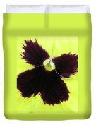 Perfectly Pansy 05 Duvet Cover