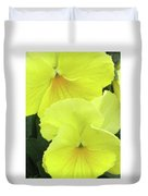 Perfectly Pansy 09 Duvet Cover