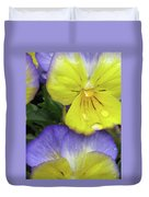 Perfectly Pansy 11 Duvet Cover