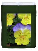 Perfectly Pansy 12 Duvet Cover