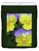 Perfectly Pansy 13 Duvet Cover