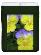 Perfectly Pansy 14 Duvet Cover