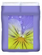 Perfectly Pansy 17 Duvet Cover