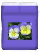 Perfectly Pansy 19 Duvet Cover