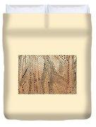 Perforated Metal Sheet Duvet Cover