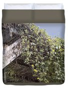 Pergola And Vines Duvet Cover